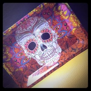 Urban Outfitters Psychedelic Sugar Skull Tray